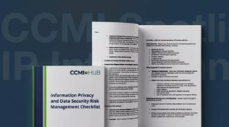 Information Privacy and Security Risk Management Checklist